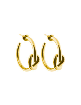Knot Hoops by Sophie By Sophie
