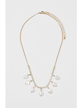 Sparkly Stone Necklace by H&M