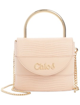 Small Aby Lock Lizard Embossed Leather Shoulder Bag by ChloÉ