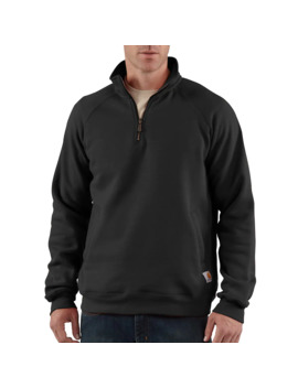 Midweight Quarter Zip Mock Neck Sweatshirt by Carhartt