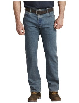 Flex Active Waist 5 Pocket Regular Fit Jeans by Dickies