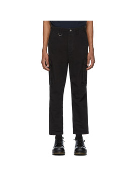 Black Kraft Cargo Pants by Ksubi
