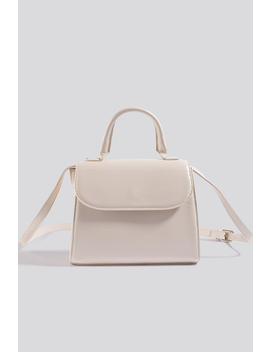 Top Handle Crossbody Bag White by Na Kd Accessories