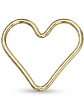 Closed Jump Ring Heart 14 Kt Gold Filled 13.5x15mm   5pcs (10531)/1 by Etsy