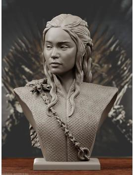 Daenerys Targaryen | Resin Bust 1\\10 | Resin Kit | Unassembled | Unpainted | Free Shipping by Etsy
