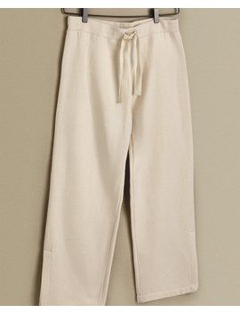 Plush Trousers With Vents Women's Clothing   Clothing & Footwear   Shop By Product by Zara Home