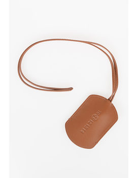 Mm11 Leather Necklace Key Ring by Maison Margiela