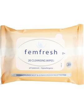 Femfresh Intimate Hygiene Feminine Wipes 20 Pack by Femfresh