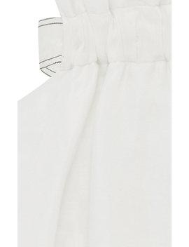 Mimosa Cutout Linen And Silk Blend Midi Dress by Aje