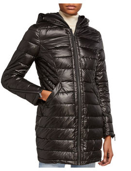 French Connection Puffer Coat With Zip Out Bib by French Connection