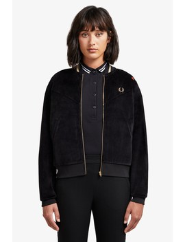 Amy Winehouse Bomberjacke Mit Streifen by Fred Perry