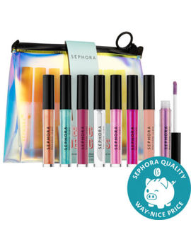 Sephora Collection Bright Delights Lip Gloss & Pouch Set by Sephora Collection