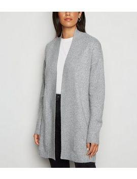 Jdy Pale Grey Longline Cardigan by New Look