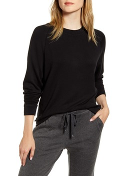 Signaturesoft Plush Sweatshirt by Lou & Grey