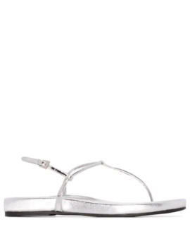 Strappy Thong Sandals by Prada