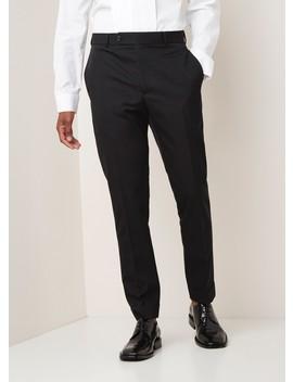Straight Fit Pantalon Met Persplooi by Helmut Lang