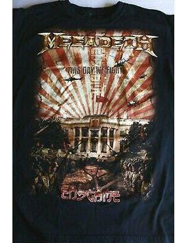 Megadeth Endgame Mens Black T Shirt Band Concert Tour Metal Rock Music Xl by Anvil