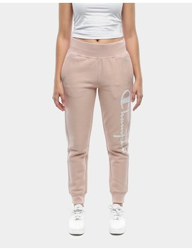 Champion Women's Reverse Weave Graphic Jogger Almond by Champion