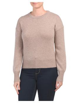 Drop Shoulder Cashmere Sweater by Tj Maxx