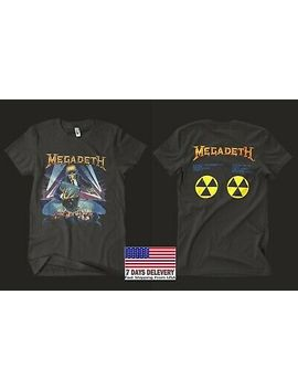 Megadeth 1990 'rust In Peace' Ultra Rare Vintage,Unisex,Usa Size S 5 Xl by Gildan