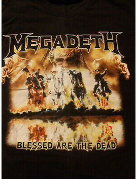 Black Megadeth T Shirt United Abominations 2007 Tour Heavy Metal Concert Size L by Ebay Seller