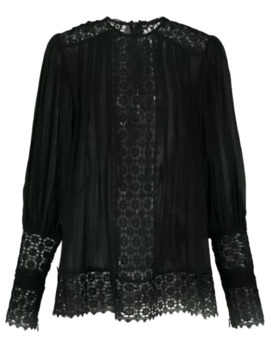 Embroidered Long Sleeved Blouse by Zimmermann