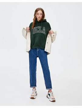 Sweatshirt Ucla X Pull&Bear Em Verde by Pull & Bear