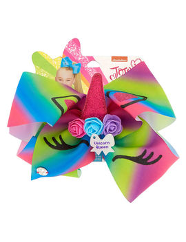 Jo Jo Siwa™ Large Unicorn Queen Signature Hair Bow by Claire's