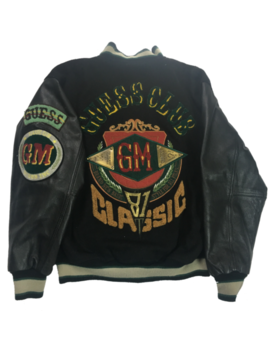 Vintage Guess Club Classic 81 Varsity Jacket by Guess