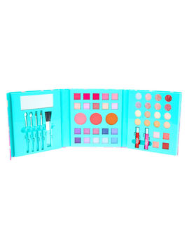 Ombre Holographic Unicorn 48 Piece Makeup Set by Claire's