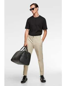 Kalhoty Chino 4 by Zara