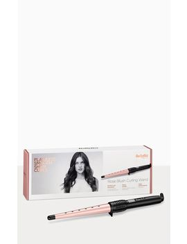 Ba Byliss Rose Blush Curling Wand Hair Styler by Prettylittlething