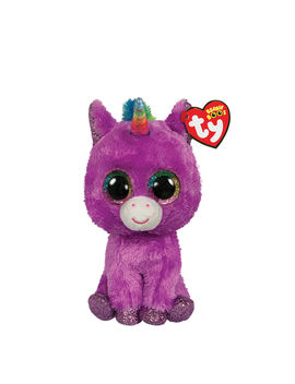Ty Beanie Boo Small Rosette The Unicorn Plush Toy by Claire's