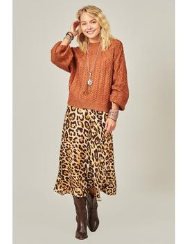 Emiliana Lace Detailed Sweater by Three Bird Nest