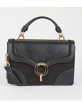 Est. 1969 Black Top Handle Mini Bag by New Look