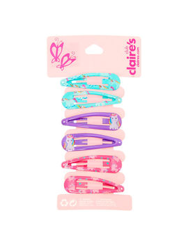 Claire's Club Unicorn Snap Hair Clips   6 Pack by Claire's