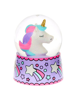 Miss Glitter The Unicorn Snowglobe by Claire's