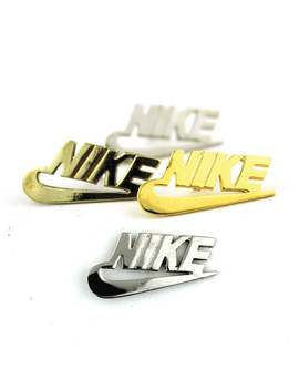 Vintage Pin Nike Solid Brass by Etsy