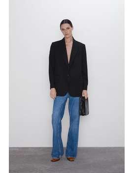 Tek DÜĞmelİ Oversize Blazer by Zara