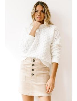 Sundance Ivory Sweater by Luca And Grae
