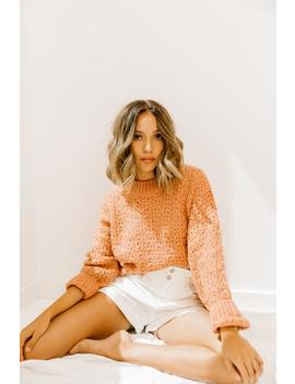 If You Wait Rose Sweater by Luca And Grae