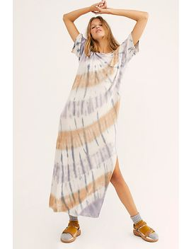 Snooze Button Maxi Sleep Tee by Intimately