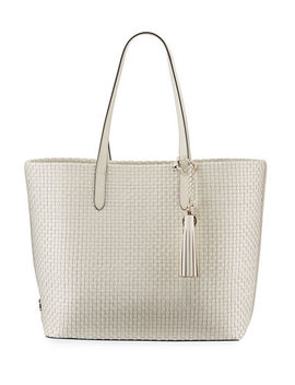 Cole Haan Payson Woven Leather Tote Bag by Cole Haan