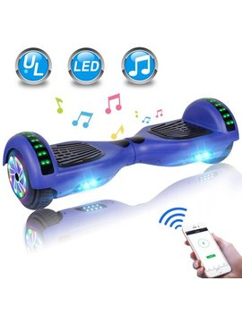 "Cbd Hoverboard 6.5"" Two Wheel Self Balancing Hoverboard With Led Lights Electric Scooter And Bluetooth Without Free Carry Bag For Adult Kids Gift Ul 2272 Certified by Cbd"