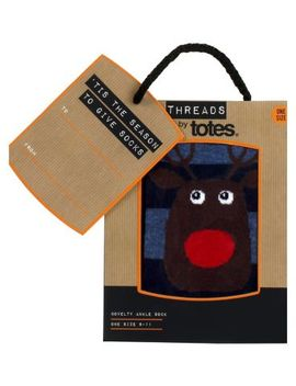 Threads By Totes Novelty Ankle Sock by Threads