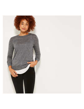 Merino Wool Sweater by Joe Fresh