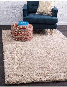 7' X 10' Solid Shag Rug by E Sale Rugs