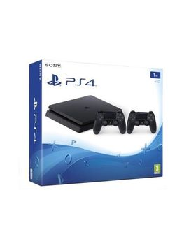 Consola Sony Playstation 4 Slim 1 Tb Negru Controller Dualshock 4 V2 by Sony