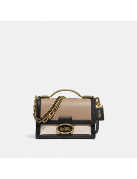 Riley Top Handle 22 In Colorblock by Coach