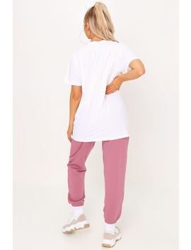White California Graphic Print Oversized Tshirt by I Saw It First
